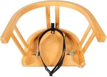 3R Schlittensitzchen mit Gurtensitz Braun