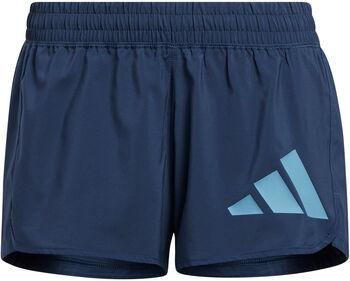 adidas Pacer Badge short d'entraînement Femmes Bleu