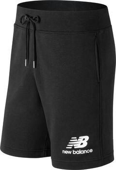 New Balance Essentials Stacked Logo Shorts Herren Schwarz