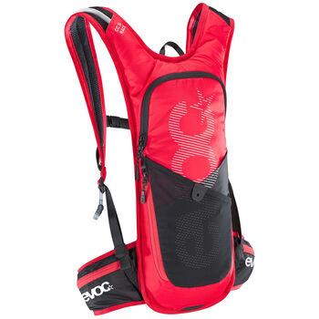 evoc CC 3 L Race + 2 L Bladder sac à dos de cycliste Rouge