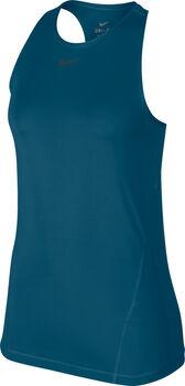 Nike PRO Mesh Tank Top Damen Blau