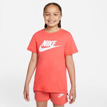 Nike Sportswear Basic Futura T-Shirt Rot