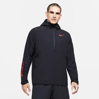 Nike Pro 1/2-Zip Hoody Hommes Noir