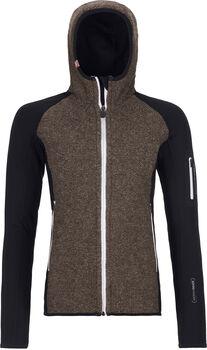 ORTOVOX Fleece Plus ClassicKnit Hoody Damen Schwarz