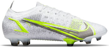 Nike Mercurial Vapor 14 Elite FG chaussure de football Blanc