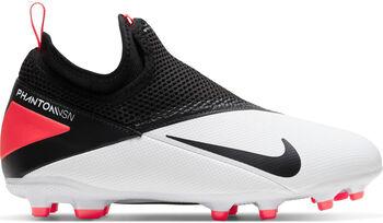 Nike PHANTOM VISION 2 ACADEMY DF FG/MG Fussballschuh Jungs Weiss