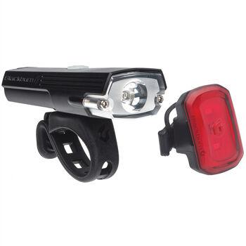 Blackburn DAYBLAZER 400 éclairage avant et CLICK USB éclairage arrière  Noir