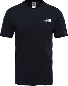 The North Face Red Box T-Shirt Herren Schwarz