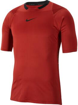 Nike PRO Aero-Adapt T-Shirt Herren Rot