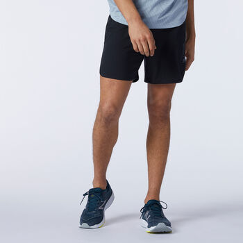 New Balance Q Speed Fuel 7 Inch short de running Hommes Noir