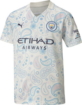 Puma Manchester City 3R Replica maillot de football Blanc