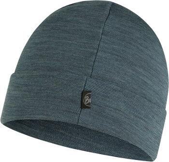 Buff Merino Mütze Grau