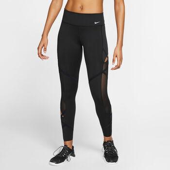 Nike One Icon 7/8 Fitness Tights Damen Schwarz