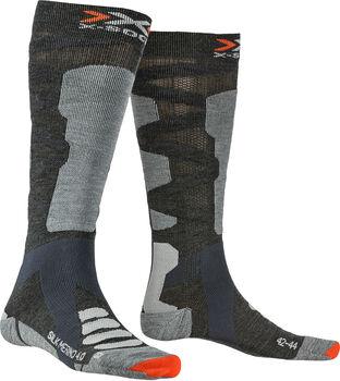 X-Socks SKI SILK MERINO 4.0 Skisocken Herren Grau