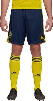 adidas Sweden Home Replica short de football Hommes Bleu