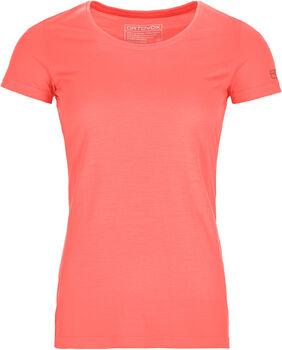 ORTOVOX 120 COOL TEC WOOD t-shirt Femmes Rouge
