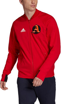 ADIDAS V. City Trainings Jacke langarm Herren Rot