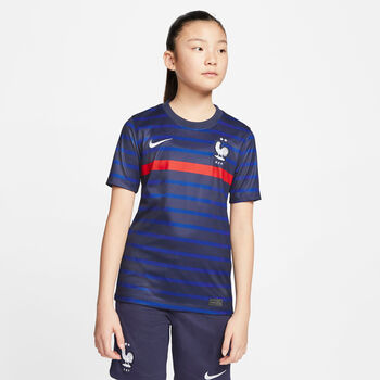 Nike Frankreich   Home Fussballtrikot Blau