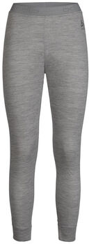 Odlo NATURAL 100% MERINO WARM Funktionsunterhose lang Damen Grau