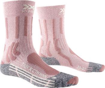 X-Socks TREK X COTTON Wandersocken Damen Pink