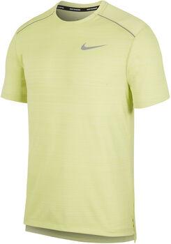 Nike Dri-FIT Miler Laufshirt Herren Gelb