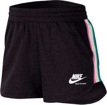 Nike Sportswear Heritage Freizeitshorts Damen Schwarz