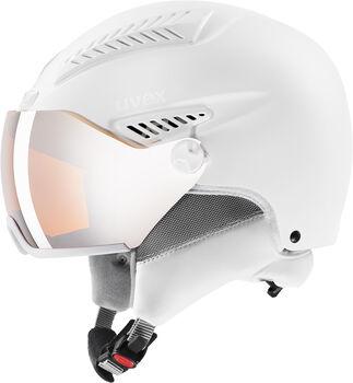 Uvex 600 Visor Casque de ski Blanc