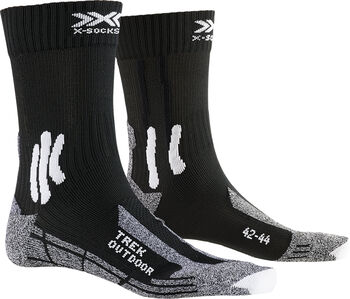 X-Socks TREK OUTDOOR Wandersocken Schwarz