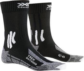 X-Socks TREK OUTDOOR Chaussettes de randonnée Noir