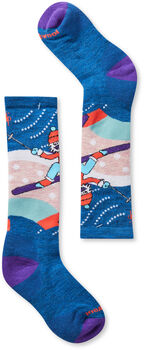 Smartwool Wintersport Yetti Betty Chaussettes Bleu