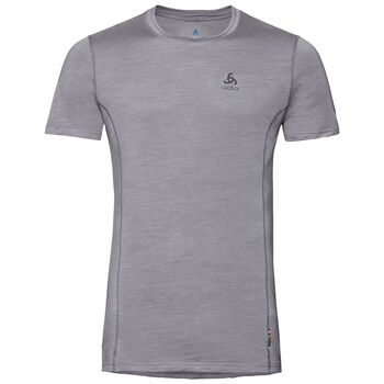 Odlo Natural + Light Baselayer T-Shirt Hommes Gris