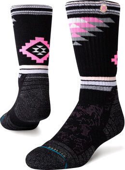 Stance Ruby Valley Crew Wandersocken Schwarz