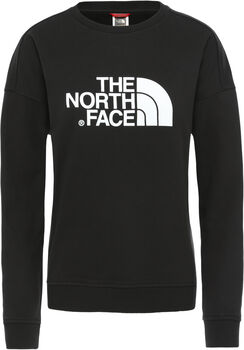 The North Face DREW PEAK CREW-EU Pullover Damen Schwarz