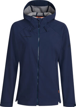 MAMMUT Sapuen SO Hooded Softshelljacke Damen Blau