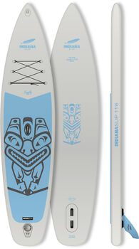 Indiana 11'6 Family Pack GREY Stand Up Paddle Grau