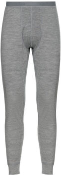 Odlo NATURAL 100% MERINO WARM sous-pantalon fonctionnel long  Hommes Gris