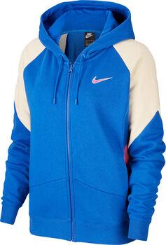 Nike Sportswear Full-Zip Hoody Damen Blau