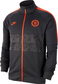 Nike FC Chelsea I96 CL Trainingsjacke Herren Grau