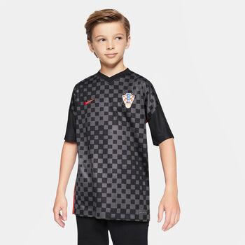 Nike Kroatien 2020 Stadium Away Fussballtrikot Grau