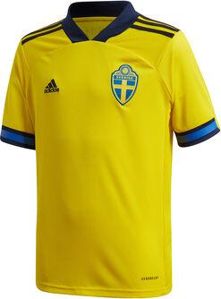 Schweden Home Replica Fussballtrikot