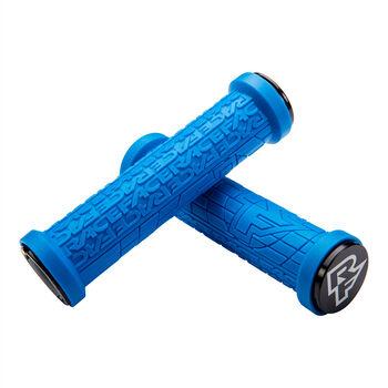 Race Face GRIPPLER Grip Lock-on 30mm Poignées de vélo Bleu