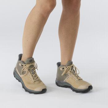 Salomon OUTline PRISM MID GORE-TEX chaussure de randonnée Femmes Vert