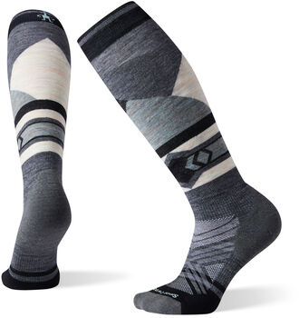 Smartwool PhD Ski Light Elite Patter Socken Damen Grau