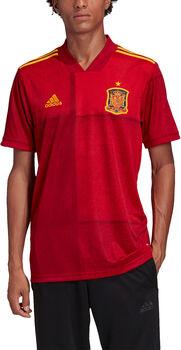 adidas Spanien Home Replica Fussballtrikot Herren Rot