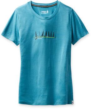 Smartwool Merino Sport 150 t-shirt Femmes Bleu