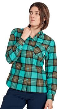 MAMMUT Trovat Wanderhemd langarm Damen Grün