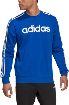 adidas Essentials 3 bandes sweat-shirt Hommes Bleu