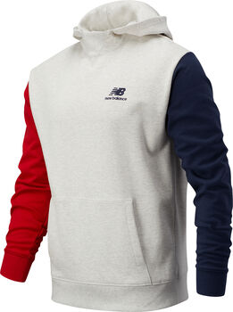 New Balance Athletics Village Fleece Hoody Hommes Blanc