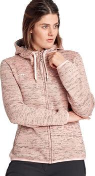 MAMMUT Chamuera Midlayer Hooded Fleecejacke Damen Pink