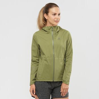 Salomon LIGHTNING 2.5 Lagen Jacke Damen Grün